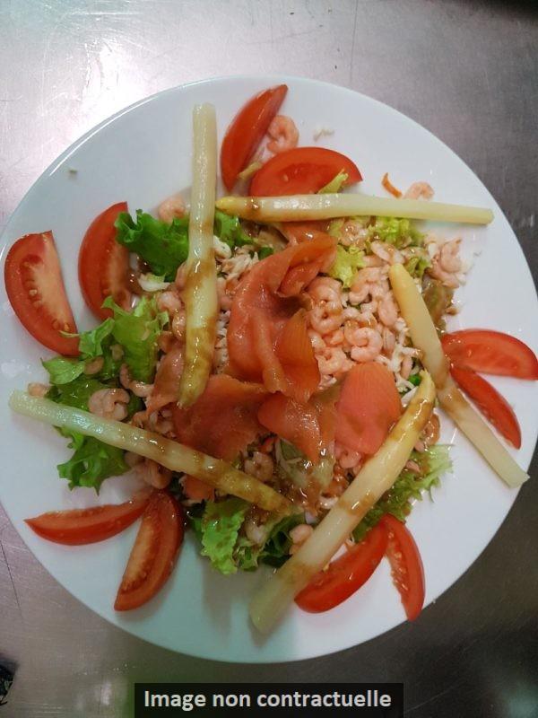 salade du chef - la fontaine des halles à poitiers