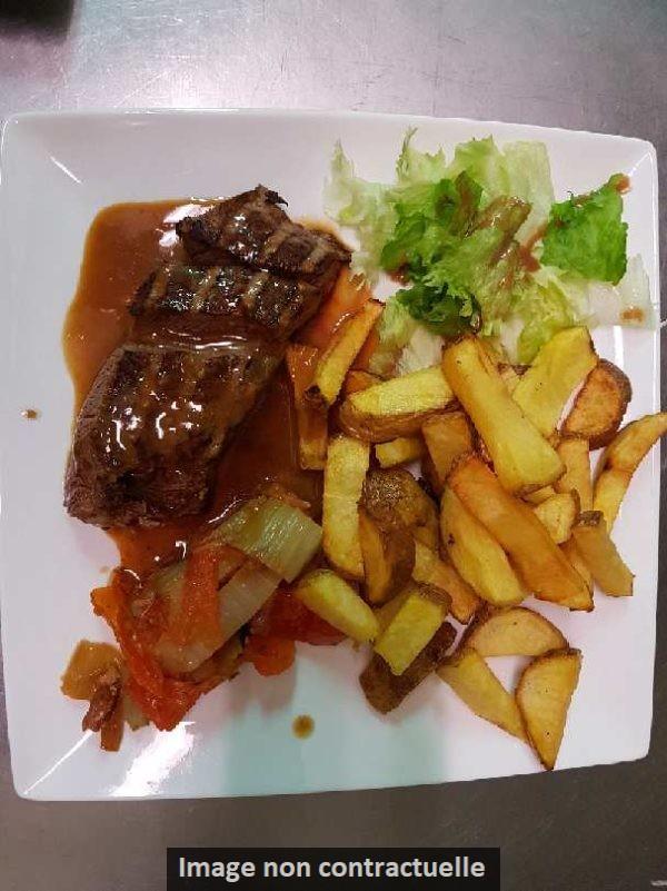 Entrecote frites - Restaurant Bar & Vins - La Fontaine des halles - Poitiers