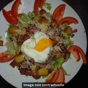 salade - Restaurant Bar & Vins - La Fontaine des halles - Poitiers